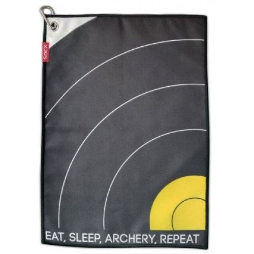 Socx Field Towel Eat Sleep Archery Repeat