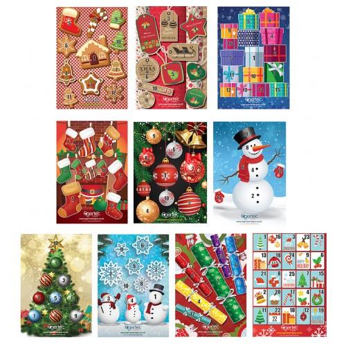 Egertec Novelty Faces - Christmas