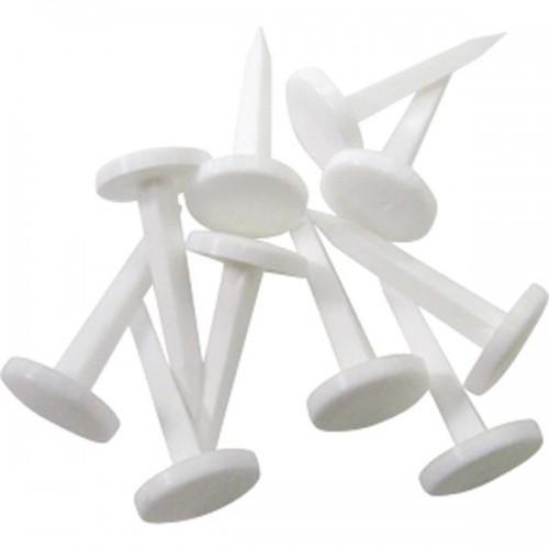 White Standard Target Pins