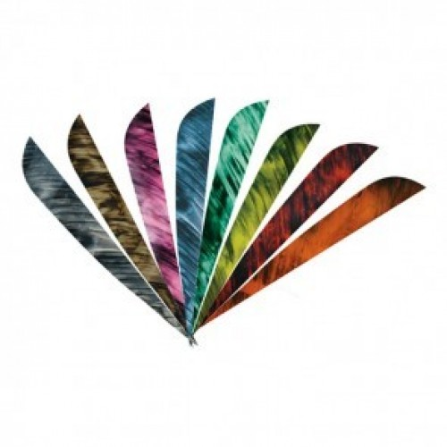 Round Back Feathers 4'' Camo