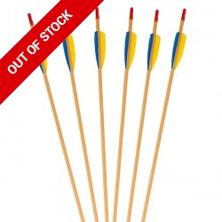 Feather Fletched - Standard Wood Arrows